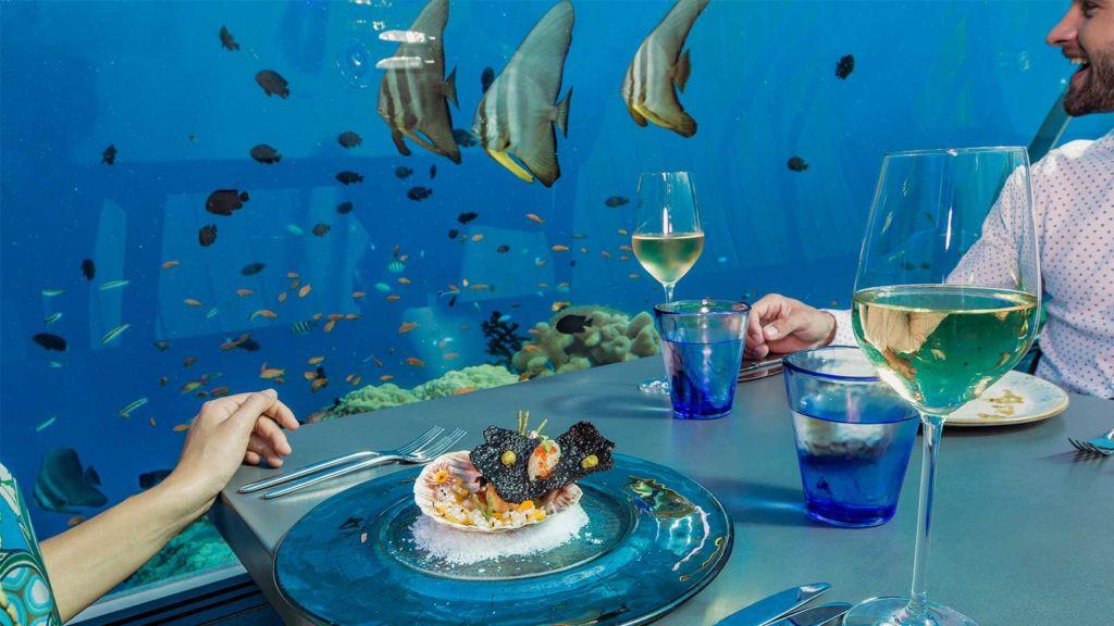 5.8 Undersea Restaurant at Hurawalhi Maldives