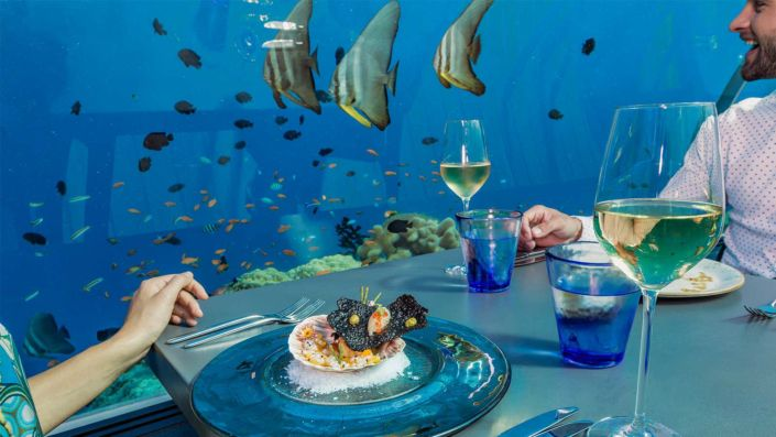 5.8 Undersea Restaurant at Hurawalhi Maldives