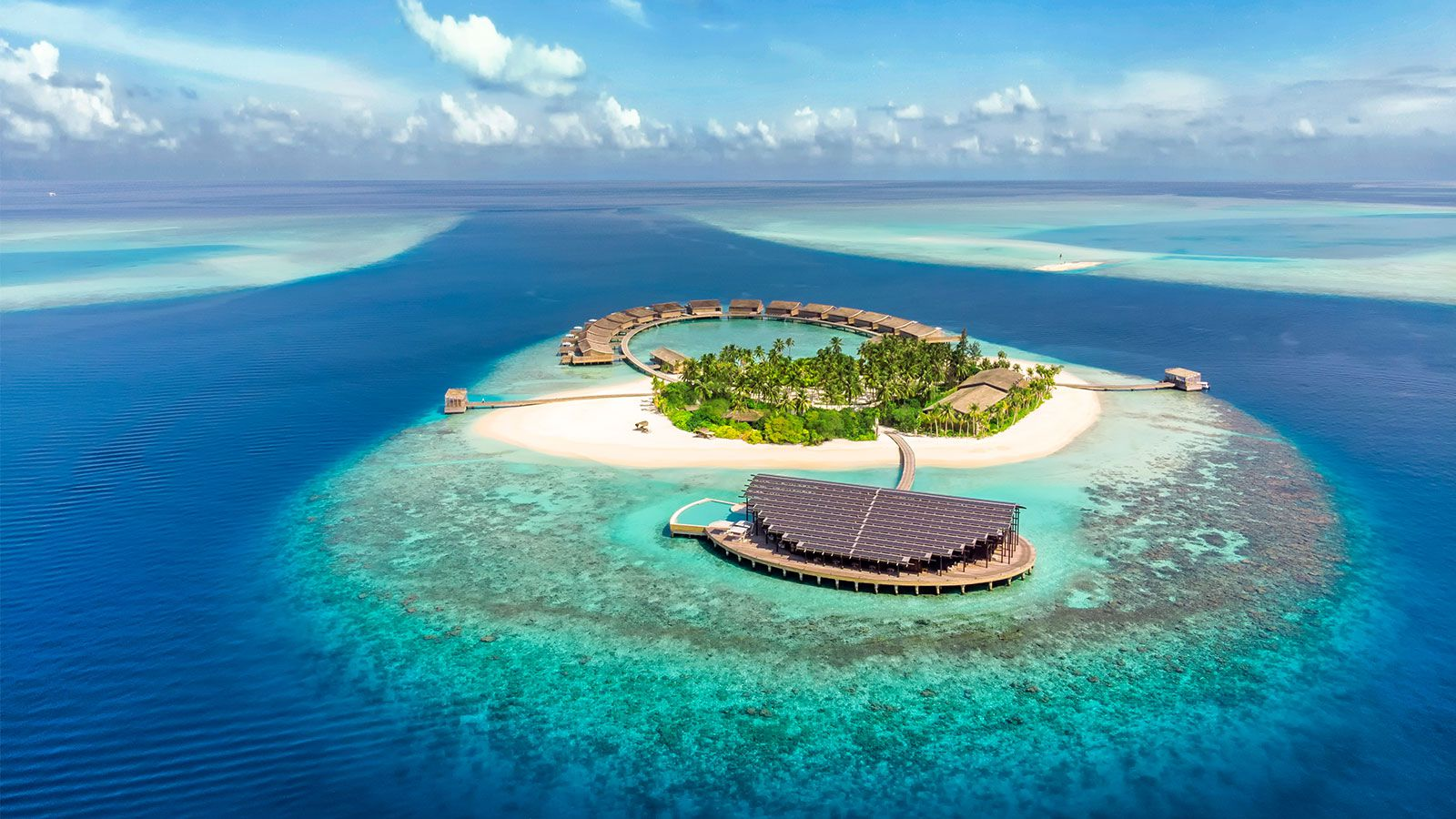 Aerial Kudadoo Maldives Private Island
