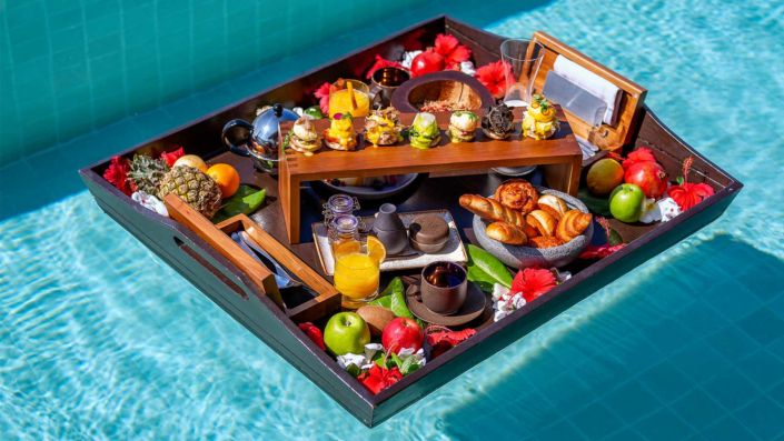 Breakfast at your Residence at Kudadoo Maldives Private Island