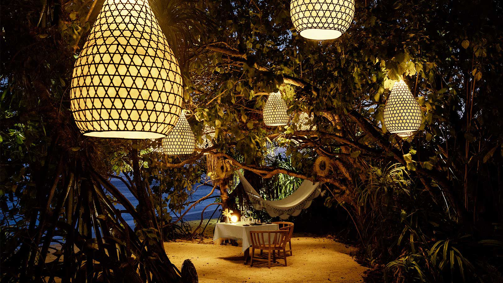 Jungle Dining Kudadoo Maldives Private Dining