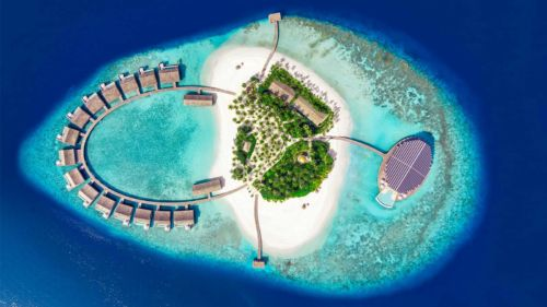 Aeriaal Kudadoo Maldives Private Island