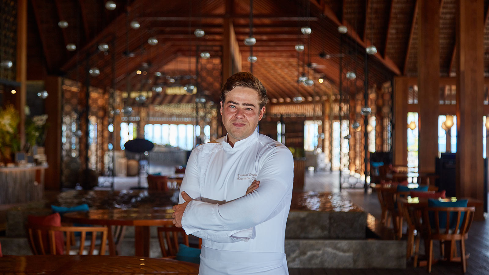 Executive Chef Edouard Deplus