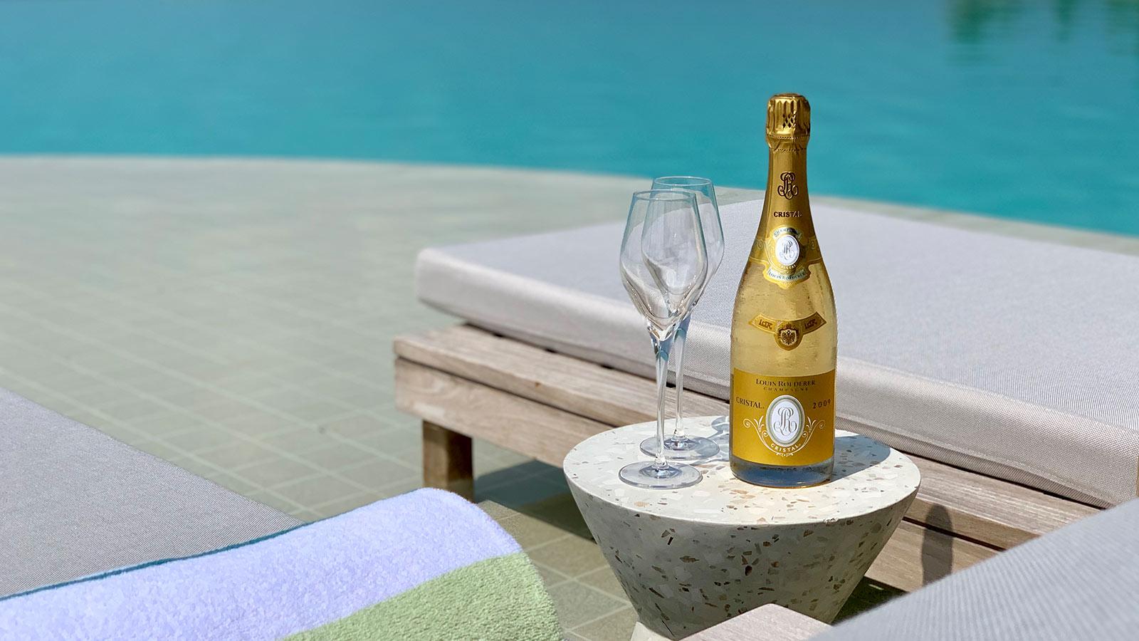 Maldives Christmas Champagne
